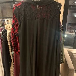 Size 4 Torrid long dress or over flow